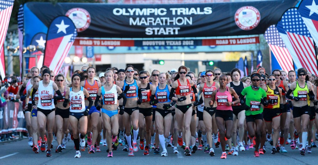 The start of the 2012 Women's Olympic Trials Marathon(Photo: Runner's World)